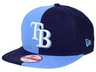 New Era MLB Tampa Bay Rays Double Splitem Snapback Cap