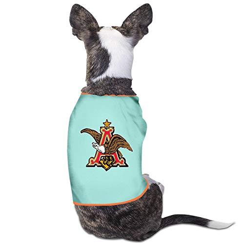 NEST-Homer Pet Clothes Budweiser Beer Logo Dog Cat Tank Top Puppy Coats]()