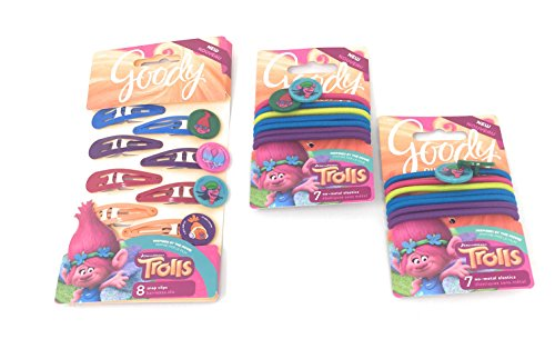 Goody Girls Trolls Hair Accessories