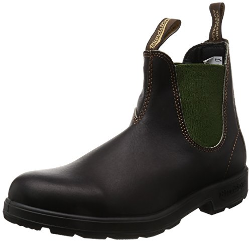 - Ralph Libonati Co/Blundstone M Blundstone Unisex Original 500 Series, Stout Brown/Olive, 12.5 M US Women / 10.5 M US Men