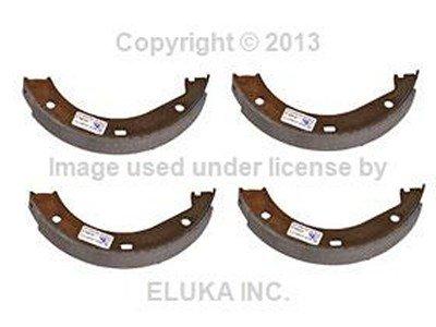 (BMW Genuine Brake Shoe Set for Parking Brake for 733i 735i 633CSi 635CSi M6 524td 528e 533i 535i M5 840Ci 840i 850Ci 850CSi 735i 735iL 740i 740iL 750iL 525i 530i 535i 540i M5 3.6 M3 M3 3.2 740i 740iL 740iLP 750iL 750iLP ALPINA V8 Z8 Z3 M3.2 E23 E24 E28 E31 E32 E34 E36 E38 E52 Z3)