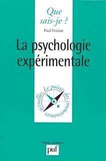 La psychologie expérimentale, Fraisse, Paul