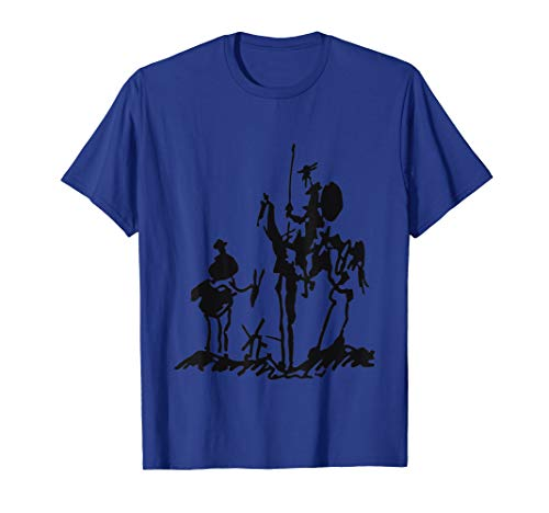 Don Quixote painting drawing Picasso shirt - Don Quixote Paintings