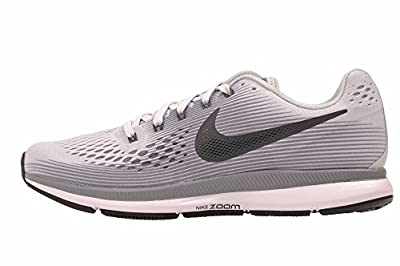 Nike Women's Air Zoom Pegasus 34 Running Shoe, Pure Platinum/Cool Grey/Black/Anthracite