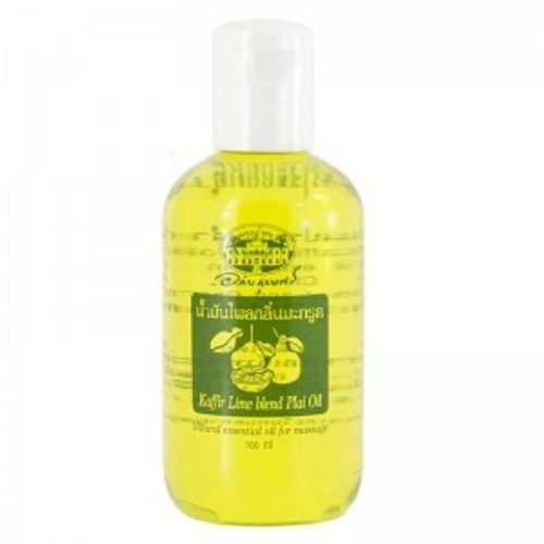 Plai Essential Oil - Abhaibhubejhr Plai Oil 100ml. Natural Essential Oil for Massage, Product of Thailand