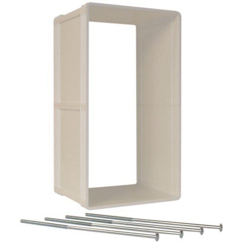 Ideal Pet Products Ruff-Weather Pet Door Wall Installation Kit MEDIUM