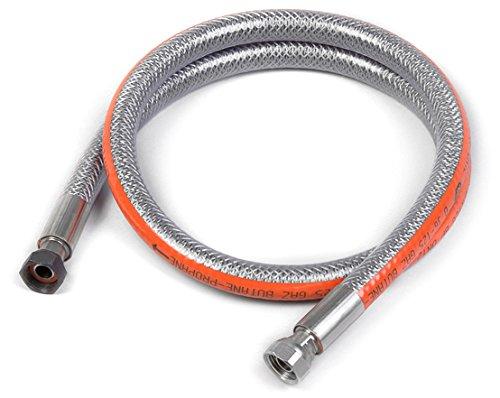 Home Gaz Flexible inox butane/propane 2 m sans date de pé remption GAZ300