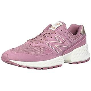 New Balance Women's Fresh Foam 574 Sport V2 Sneaker, Twilight Rose/SEA Salt, 5 B US