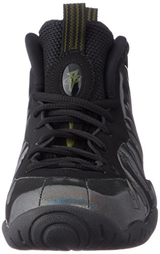 Nike Little Posite One (GS) 644791-301 Legion Green/Black Kids Shoes (6Y) by Nike (Image #4)