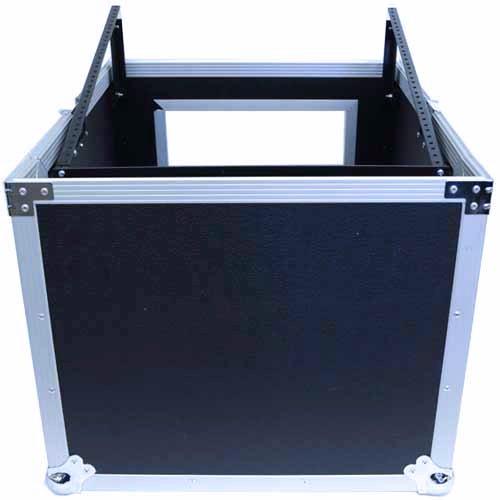 Seismic Audio - SAMRC-8U - 8 Space Rack Case with Slant Mixer Top - PA/DJ Pro Audio Road Case by Seismic Audio (Image #1)