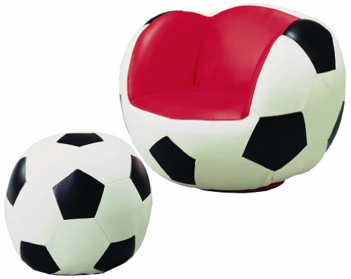 (Crown Mark Soccer Chair/Ottoman)