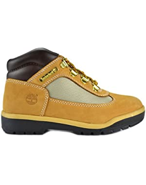 Field Boot Preschool Kids Wheat Nubuck Leather Boots