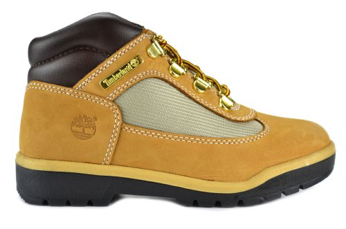 Timberland Leather And Fabric Field Boots Preschool Kids Boo