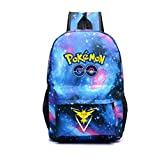 Generic Pokemon Pattern Galaxy School Backpack with Cool Design (2)