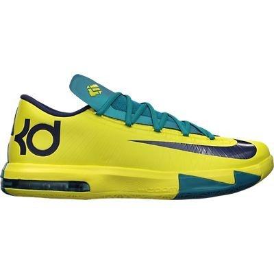 e4e8067642e6 NIKE KD VI Mens Basketball Shoes 599424-700 Sonic Yellow 9 M US  (B00DQBGTG4)