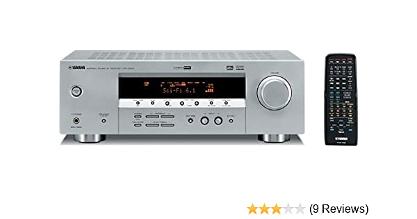 Yamaha HTR-5830 5 1-Channel A/V Surround Receiver (OLD VERSION)  (Discontinued by Manufacturer)