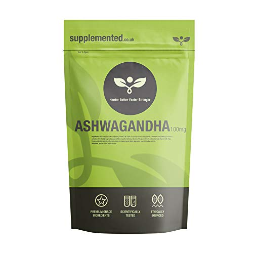 Ashwagandha 1000mg 90 Tablets UK Made. Pharmaceutical Grade