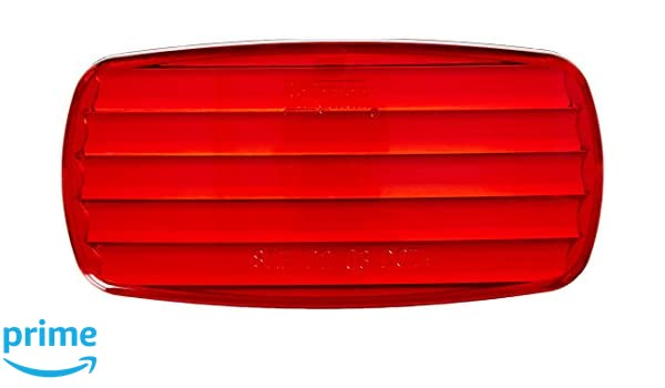 Red Bargman 30-58-010 Clearance Light Lens
