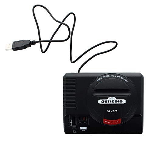 Sega Genesis 16-Bit Mini Classic Game Console USB Hub