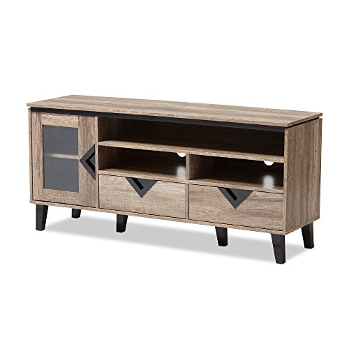 - Baxton Studio 424-7560-AMZ Cecille Modern and Contemporary Wood 55