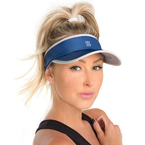 SAAKA Women's Super Absorbent Visor. Best for Tennis