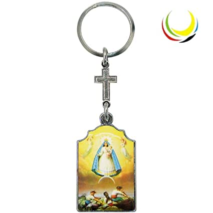 Keychain -Virgin Of Caridad Del Cobre-