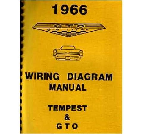 [SCHEMATICS_4FR]  Amazon.com: 1966 PONTIAC GTO TEMPEST Wiring Diagrams Schematics: Everything  Else | 1966 Gto Wiring Schematic |  | Amazon.com