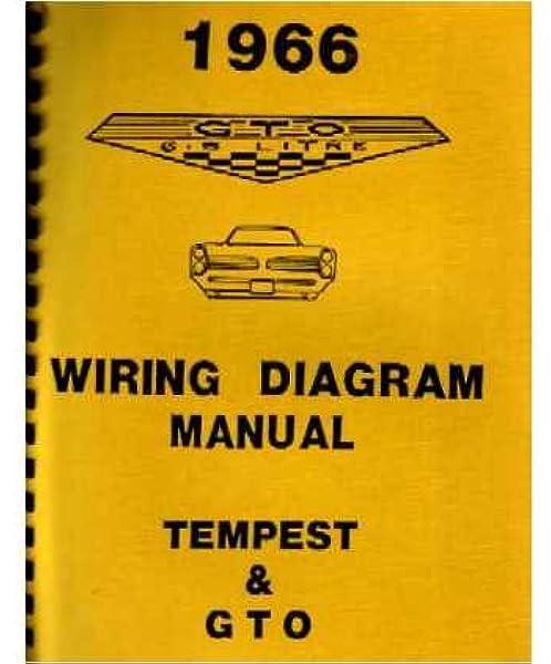 Amazon Com 1966 Pontiac Gto Tempest Wiring Diagrams Schematics Everything Else