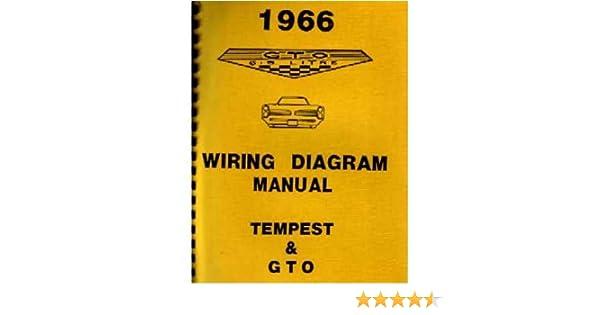 amazon com: 1966 pontiac gto tempest wiring diagrams schematics: everything  else