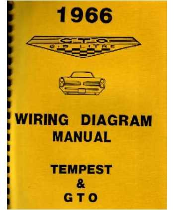 amazon com 1966 pontiac gto tempest wiring diagrams schematics rh amazon com 69 GTO Engine Wiring Diagram 66 GTO Wiring Schematic