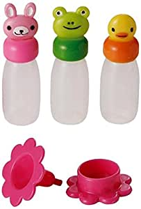Animal Shape Soy Sauce Case Container W/ Funnel