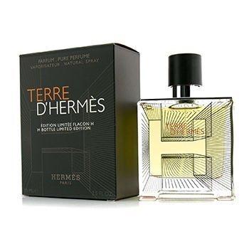 Terre D'hermes By Hermes Parfum Spray 2.5 Oz (flacon H Bottle Limited Edition 2015) by Hermes (Flacon Bottle)