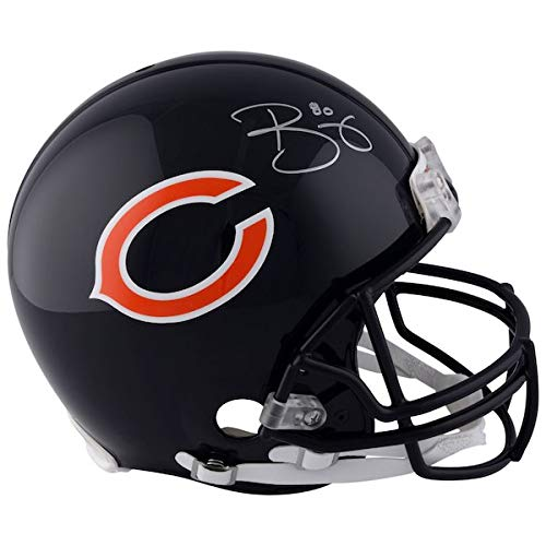 (TREY BURTON Autographed Chicago Bears Riddell Authentic Pro-Line Helmet FANATICS)