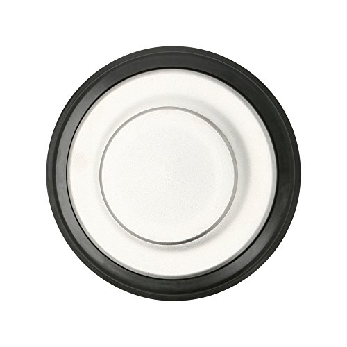3 3/8 inch Sink Stopper, Brushed/Stainless Steel Kitchen Sink Garbage Disposal Drain Stopper, Fits Kohler, Insinkerator, Waste King with Drain Size of 3.5 inches By Essential Values