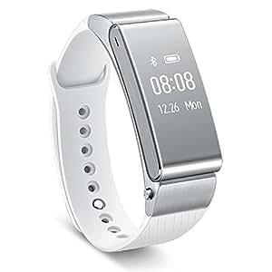 Original Huawei Talk Band B2 Bluetooth Smart Bracelet Fitness Wearable Health Sports Retail Packaging Silver