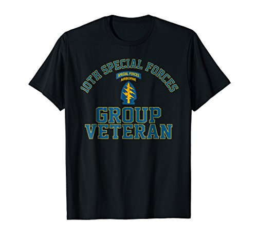 (10th Special Forces Group SFG Veteran Shirt)