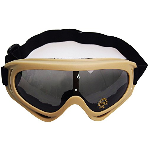 Toonol Tactical Adjustable 400UV Protective Outdoor Glasses Windproof Dust-proof Combat Motorcycle Military Sunglasses Outdoor Tactical - 2 Sunglasses Predator Polarized