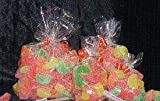 "Clear Cello/Cellophane Bags - Flat - 100 Bags - 4"" x 6"" - Party/Wedding Favors - Gift Basket Supplies"