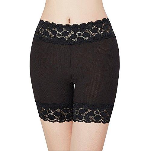 HNYG Women's Safety Shorts 3 Packs Underwear Pants Lace Leggings Freesize A651 by HNYG (Image #4)