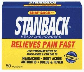 Poudre Maux de tête Stanback, 50 unités (pack de 6)