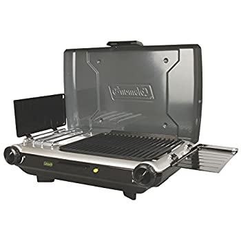 Image of Backpacking & Camping Stoves Coleman Camp Propane Grill/Stove+