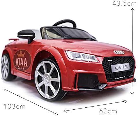 ATAA Audi TT RS 12v Licenciado con Mando - Coche eléctrico para ...