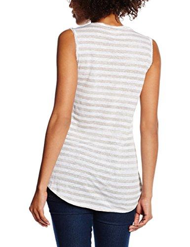 beige Stripe 5004 Blaumax shirt Mehrfarbig Riga Stripe Donna T 8nwO0YAwq