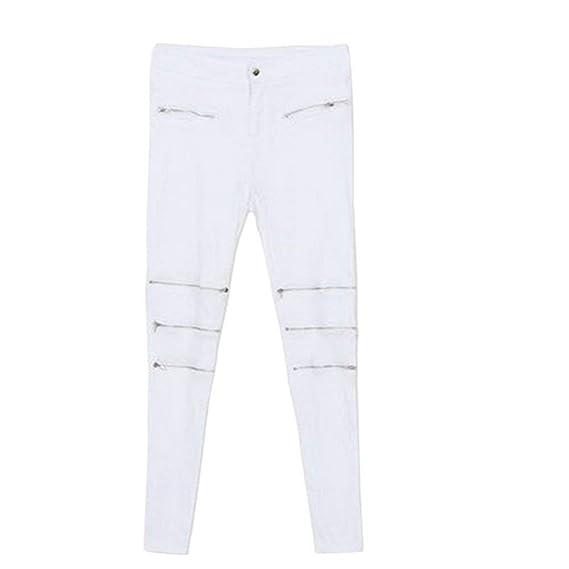 Saoye Fashion Pantalones Vaqueros De Moda para Mujer ...