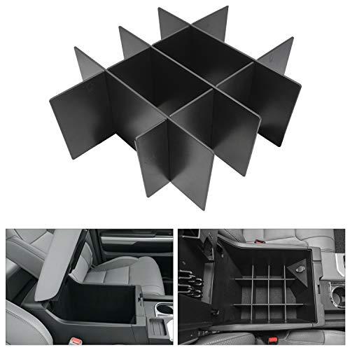 Seven Sparta Center Console Organizer Dividers for Toyota Tundra 2014-2019, Console Insert Device AccessoriesforTundra ()