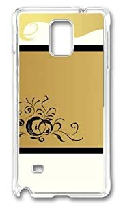 Adorable Golden Girl Hair Hard Case Protective Shell Cell Phone HTC One M8 - PC Transparent