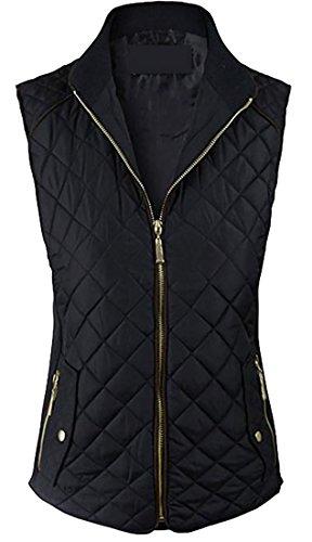 Quilted Zip Front Jacket - 5