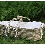 Little Merry Fellows Organic Moses Basket Mattress Replacement