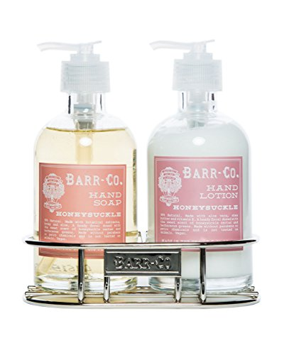 Hand Care Caddy - Barr Co Honeysuckle Hand & Body Duo with Caddy k hall designs