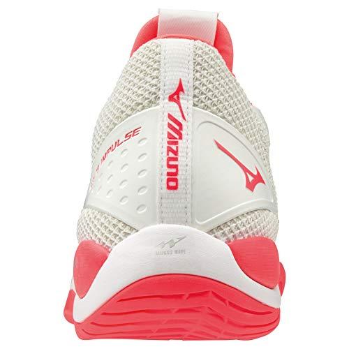 03 Running Daichi Gris 4 Asfalto Wave Zapatillas hot Para Coral stormy De Weather Mujer Mizuno silver wXZqB5